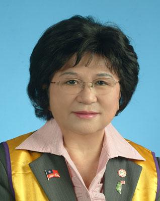 低視能委員會主席 王玉霞